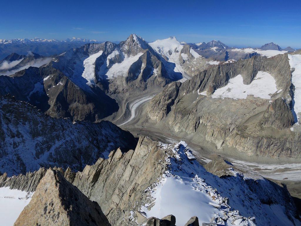 Gipfelpanorama – Nest- und Breithorn