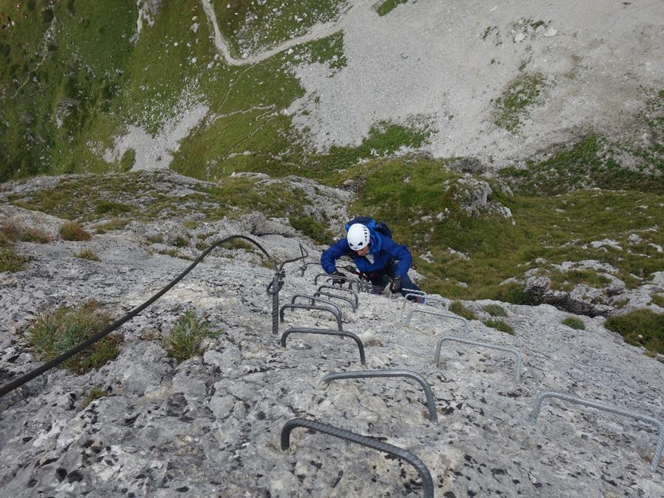Klettersteig Basel : Klettersteig basel tourentipp hohe wand alps magazine