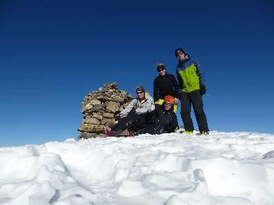 Am Wissigstock-Gipfel