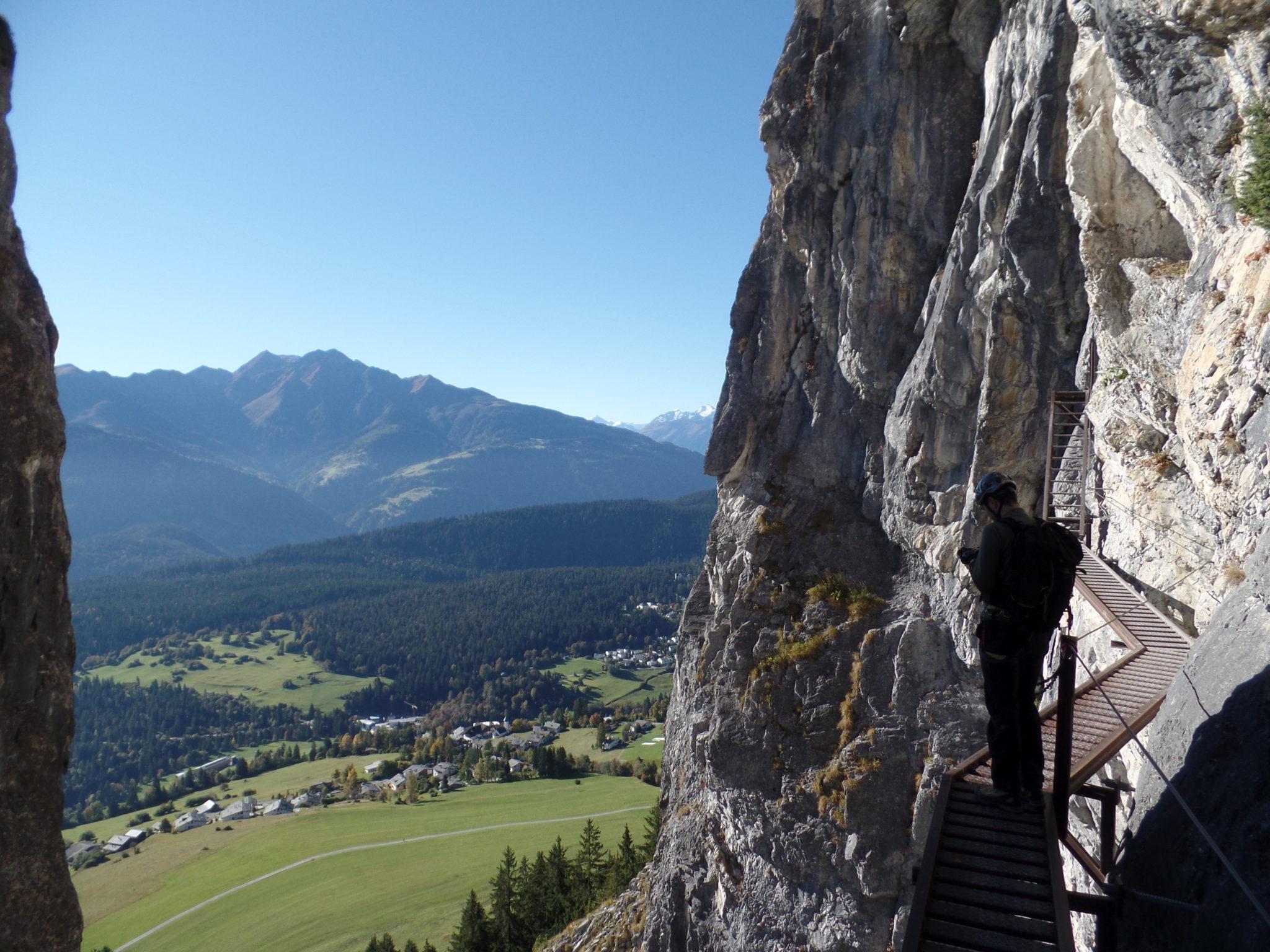 Klettersteig Pinut : Historischer klettersteig u epinutu c oktober aacbasel